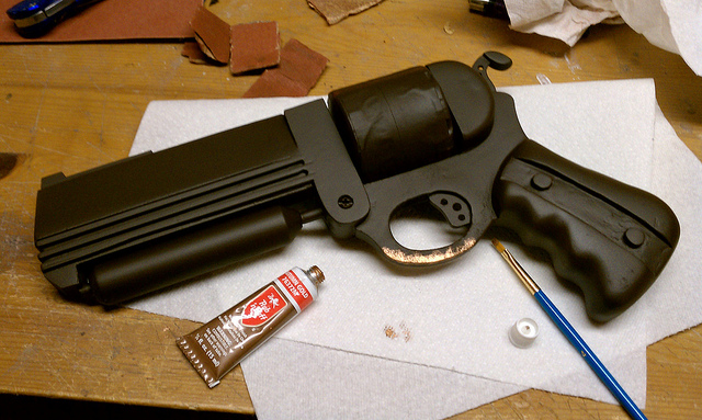 Steampunk Revolver - Step 6
