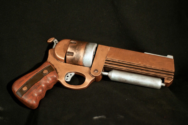 Steampunk Revolver - Finished