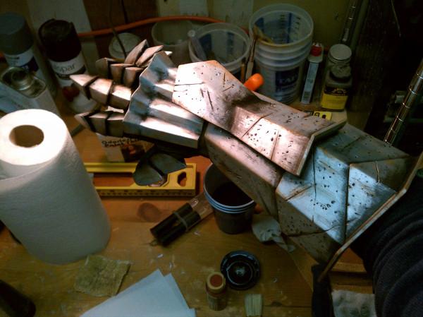 Hawke Armor - Step 8