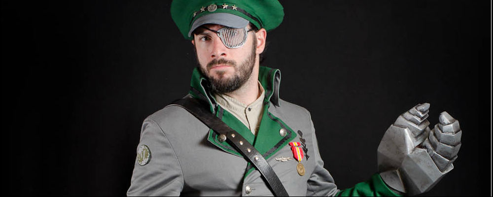 Steampunk Captain Featured
