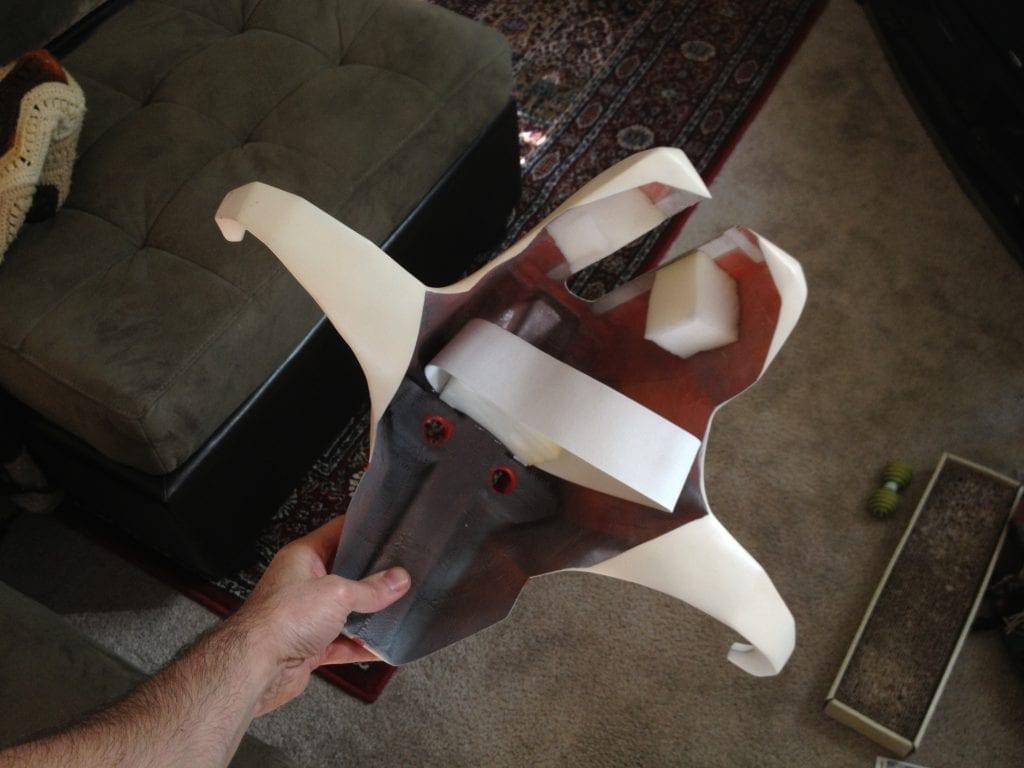 Juggernaut Mask - Foam Elastic