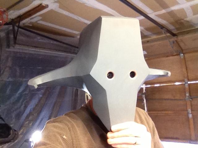 Juggernaut Mask - Eye Holes
