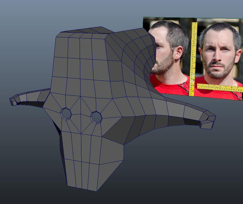 Juggernaut Mask - Modeled