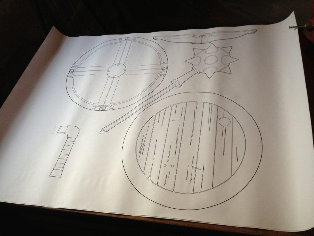 Risty Blueprints