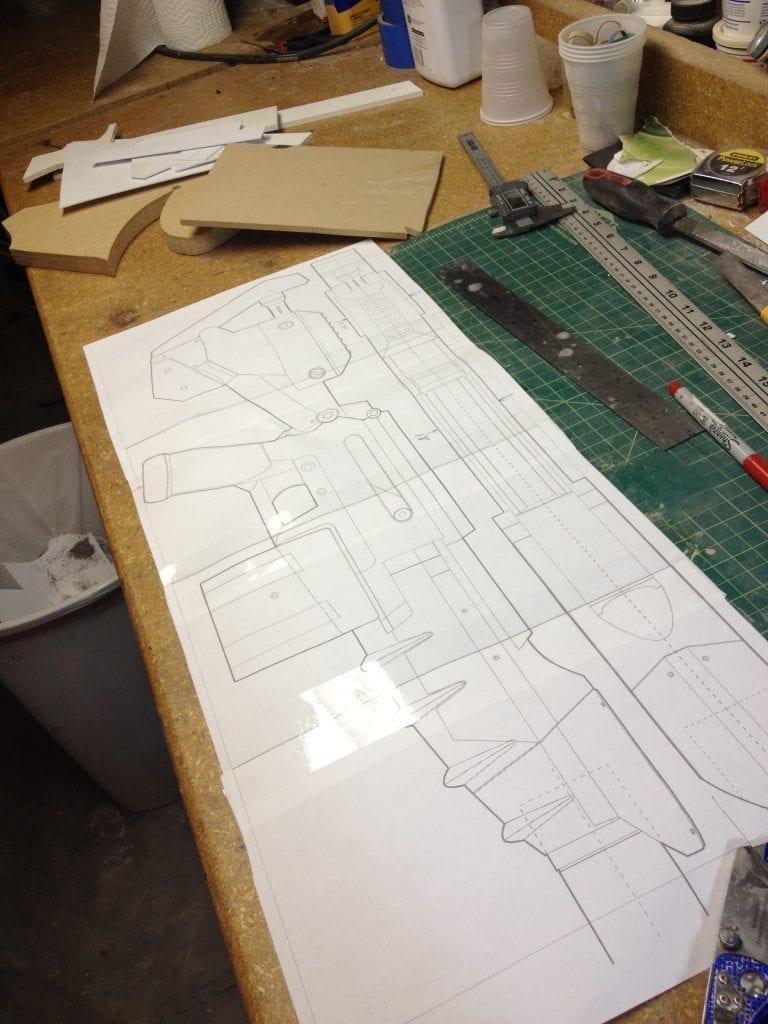 Ghost Rifle - Blueprints