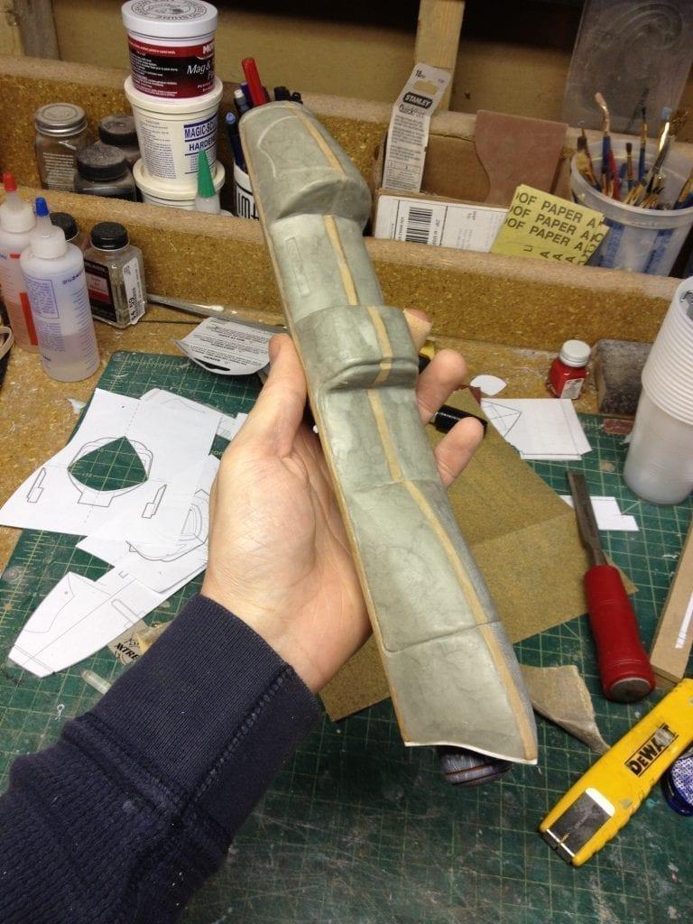 Ghost Rifle - Scope Sculpt