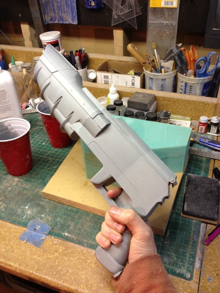 Ghost Rifle - Receiver Cast