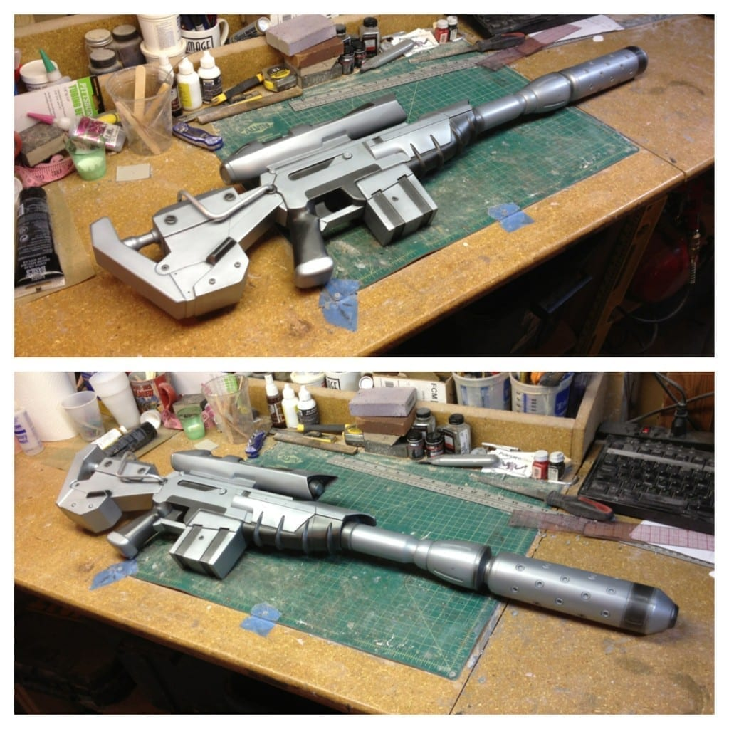 Ghost Rifle - Base Paint