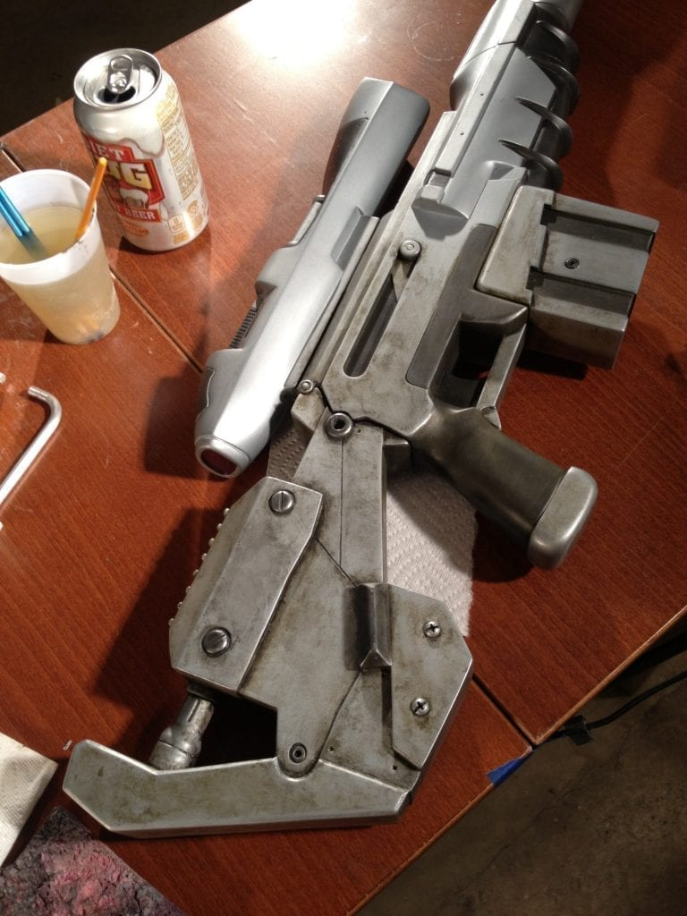 Ghost Rifle - Weathering