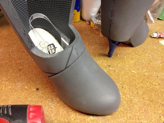 Long Fall Boots - Inside Heels