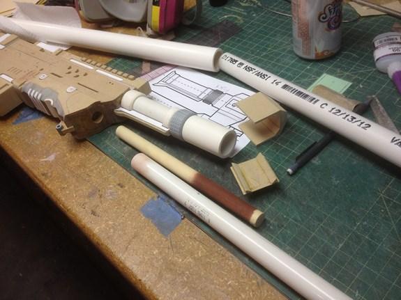 Halo Sniper - Barrel Parts