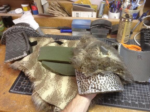 Draugr Back Fur