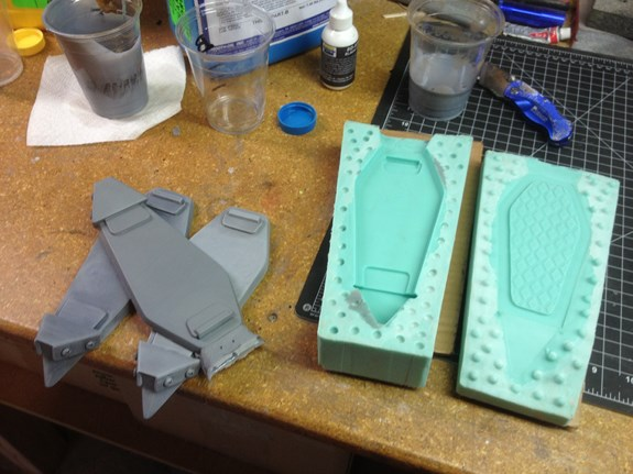 Wing Mold Castings