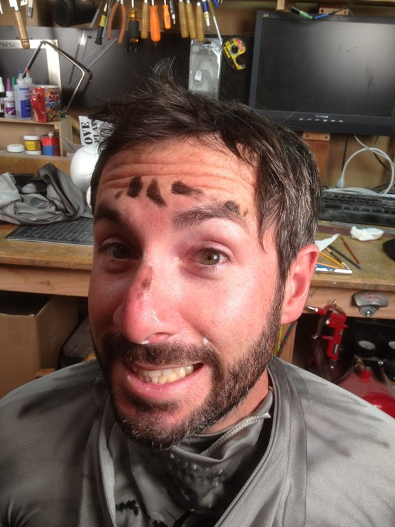 Draugr Face Paint