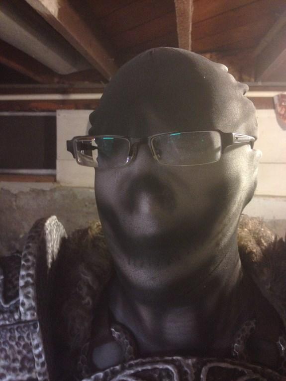 Draugr Face Airbrush