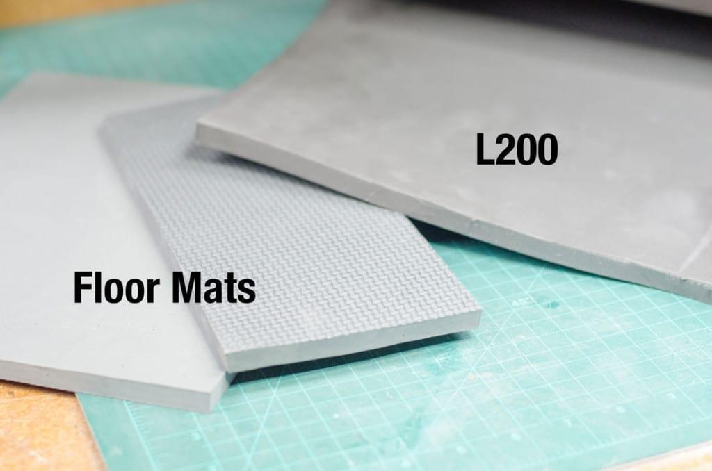 L200 Foam vs Floor Mats