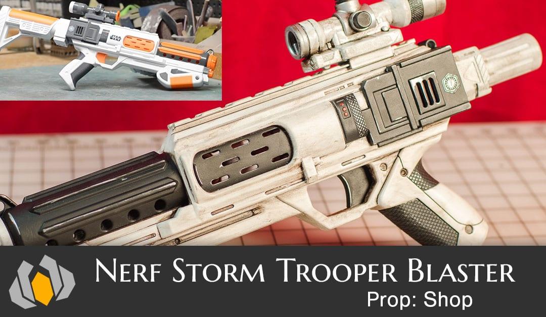 Prop Shop Nerf Stormtrooper Blaster Repaint