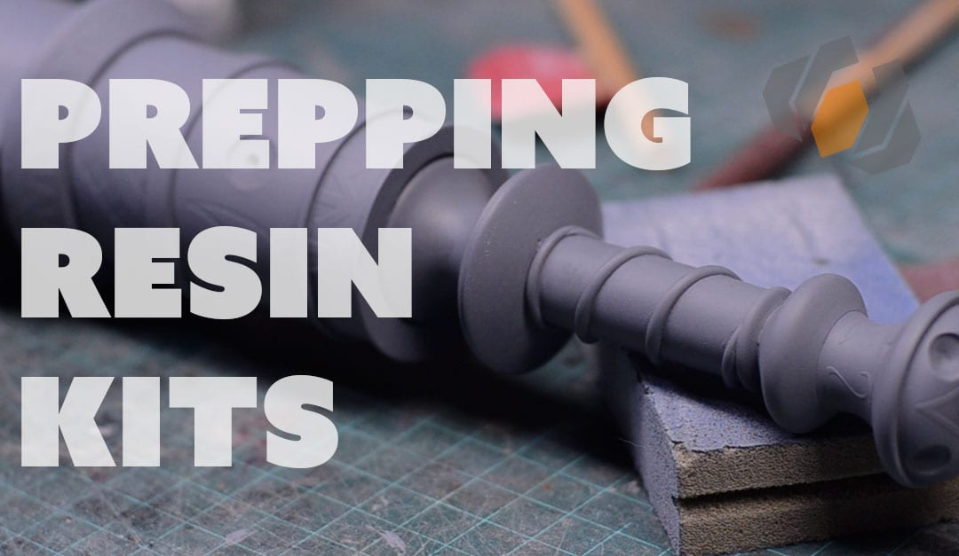Preparing Plastic Resin Prop Kits