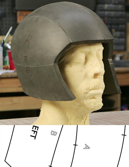 Basic Cosplay Helmet Template