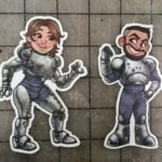 Punished Props Fallout Stickers