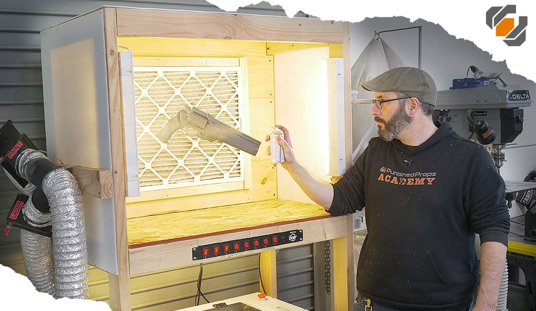 How To  Making A Custom Paint Booth With Lights