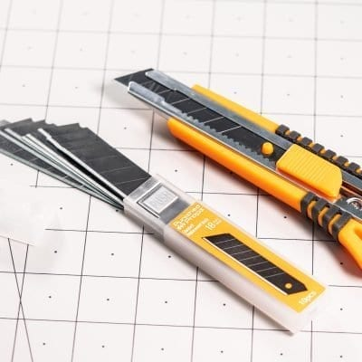 Foamsmith Utility Knife Blade Refill 10 Pack