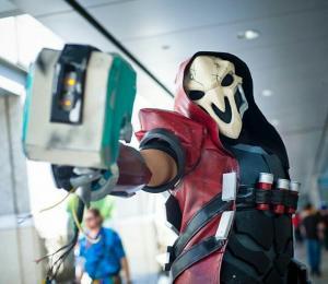 """Costume by <a href=""""https://www.facebook.com/BrokenBladeWorkshop/"""">Broken Blade Workshop</a>"""